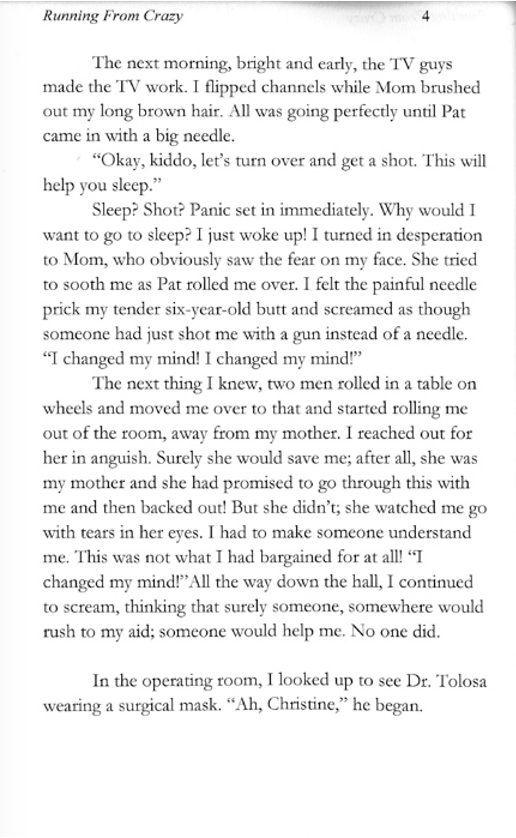 Running From Crazy Page 4