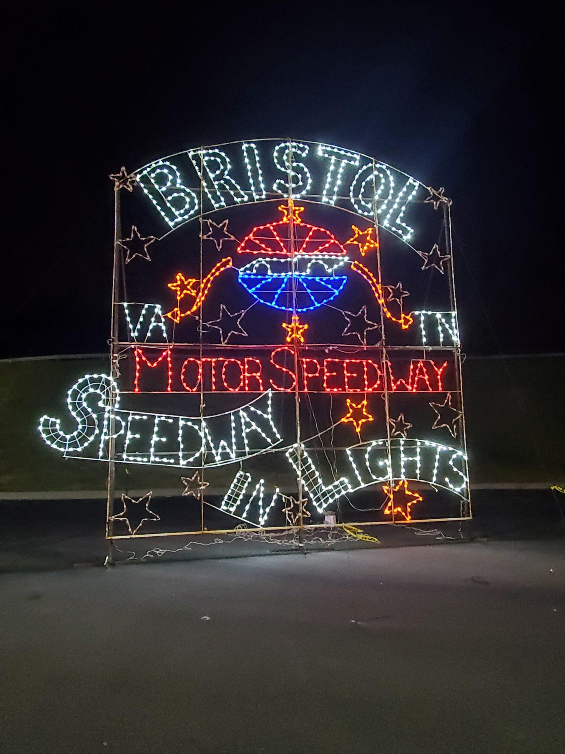 Speedway Sign